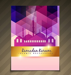Islamic festival background vector