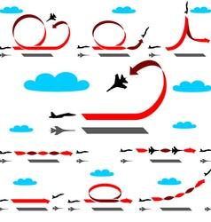 Aerobatics vector