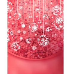Christmas glittering background card eps 10 vector