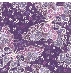 Violet seamless pattern vector