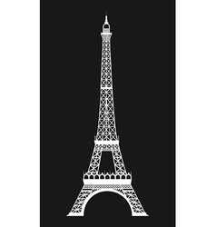 Famous landmark background vector