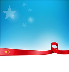 China flag background vector