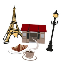 French montage vector