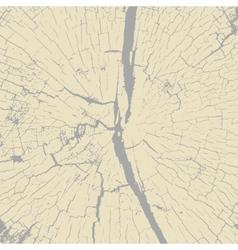 Grunge wood overlay texture vector