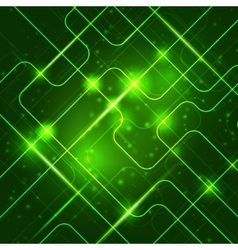 Bright technology background for your business vector