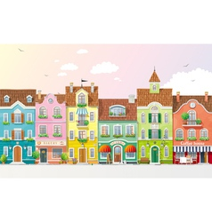 Summer cityscape 3 vector