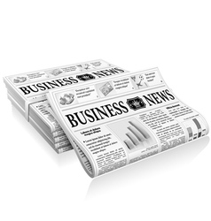 Concept - business news vector