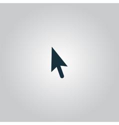Mouse arrow cursor icon - vector