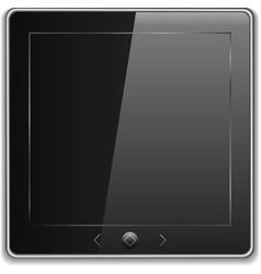 Tablet pc icon vector