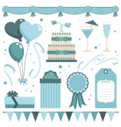 Party objects vector