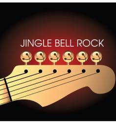 Jingle bell rock vector