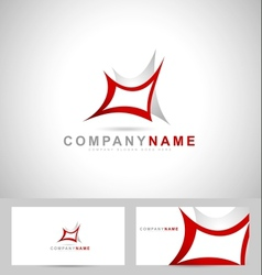 Abstract creative logo vector