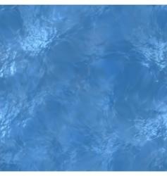 Clear blue water sea floor vector