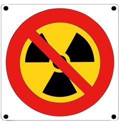 Prohibition of nuclear radiation vector