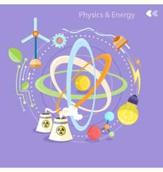 Physics energy vector