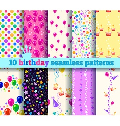 Pattern birthday vector