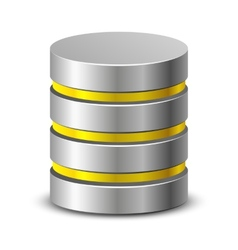 Database icons vector