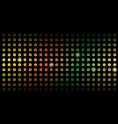 Disco glamour light background vector