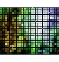 Block mosaic pattern vector