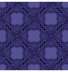 Violet seamless ornament vector