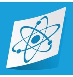 Atom sticker vector