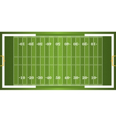 Textured grass american football field vector