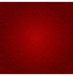 Ornaments background ruby heart vector