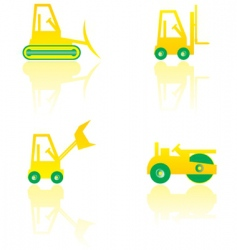 Construction machinery vector
