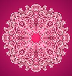 Hand drawn ornamental background vector