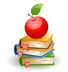 School books vector