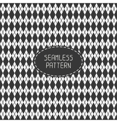 Geometric monochrome hipster line seamless pattern vector
