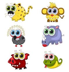 Cartoon animals vector