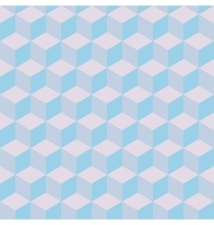 Geometric seamless pattern in pastel colors vector