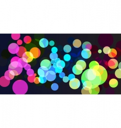 Spot light background vector