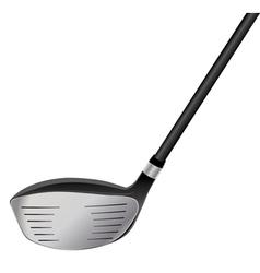 Golf driver vector