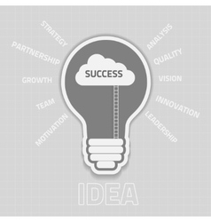 Business success concep vector