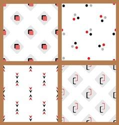Set seamless figurki2 vector