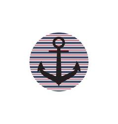 Anchor logo vector