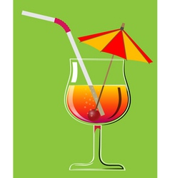 Cocktail 2 vector