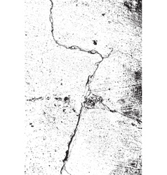 Big crack texture vector