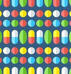 Medicines seamless pattern vector
