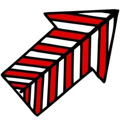 Direction arrow vector