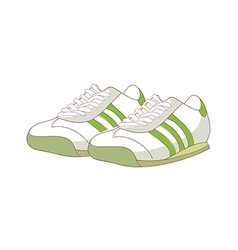 A pair of sneaker vector