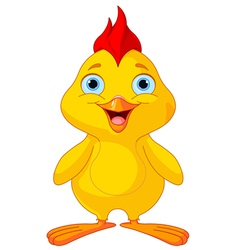 Funny chick vector