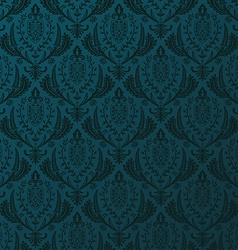 Seamless retro wallpaper vintage baroque vector