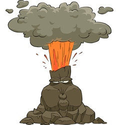 Volcano vector