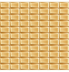 Pattern of white chocolate bars vector