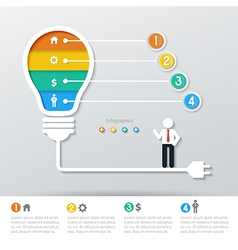 Business concept infographics vector