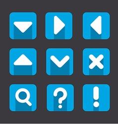Soft icon set vector