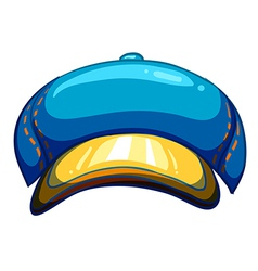 A blue lumberjacks hat vector